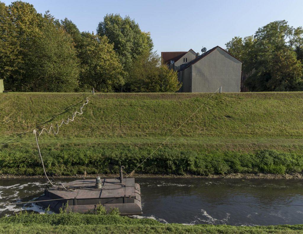 Die Emscher bei Gelsenkirchen Horst