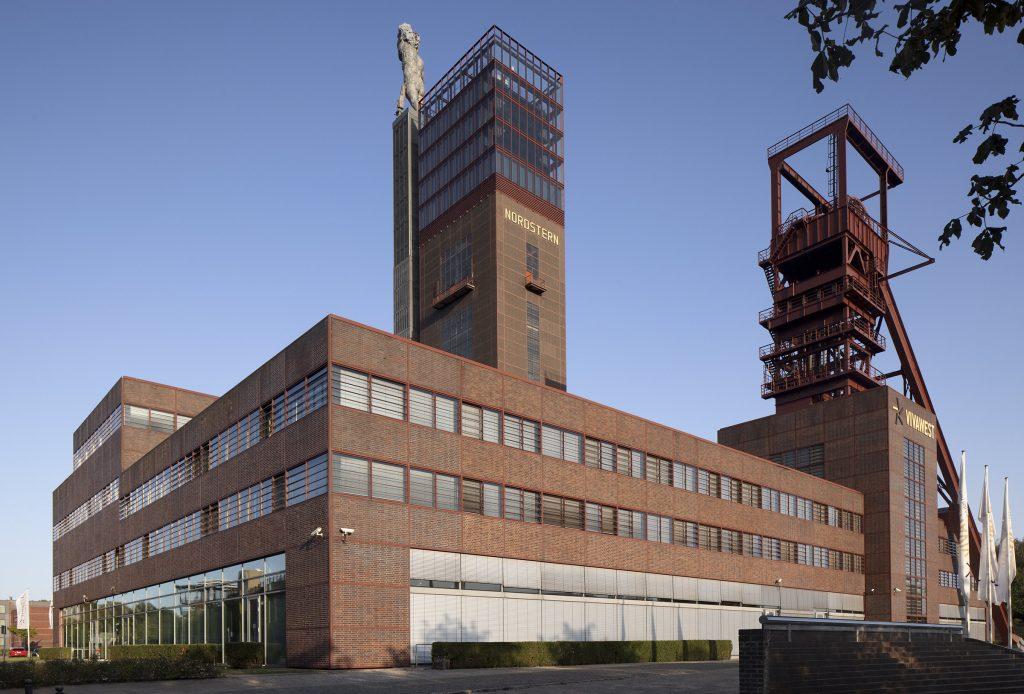 Zeche Nordstern, Hauptsitz der Vivawest, Gelsenkirchen Horst