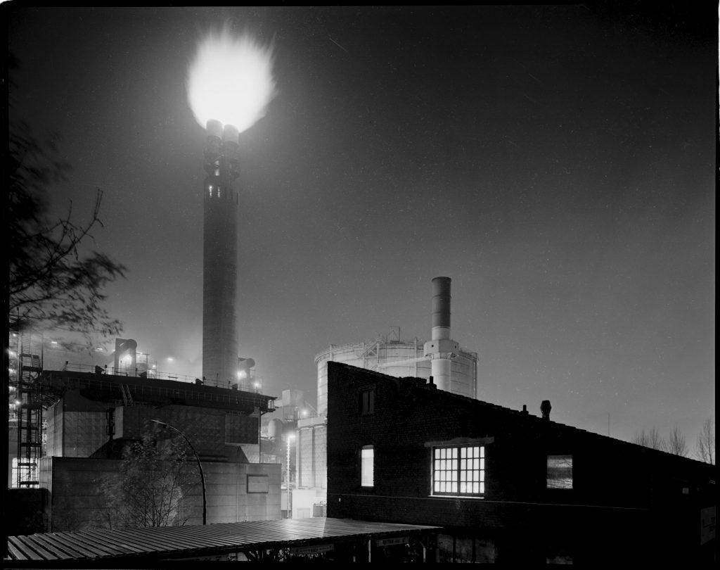 Die Hörder Fackel, Stahlwerk Hoesch Phoenix Ost, Dortmund (auf dem Gelände des heutigen Phoenix-Sees)