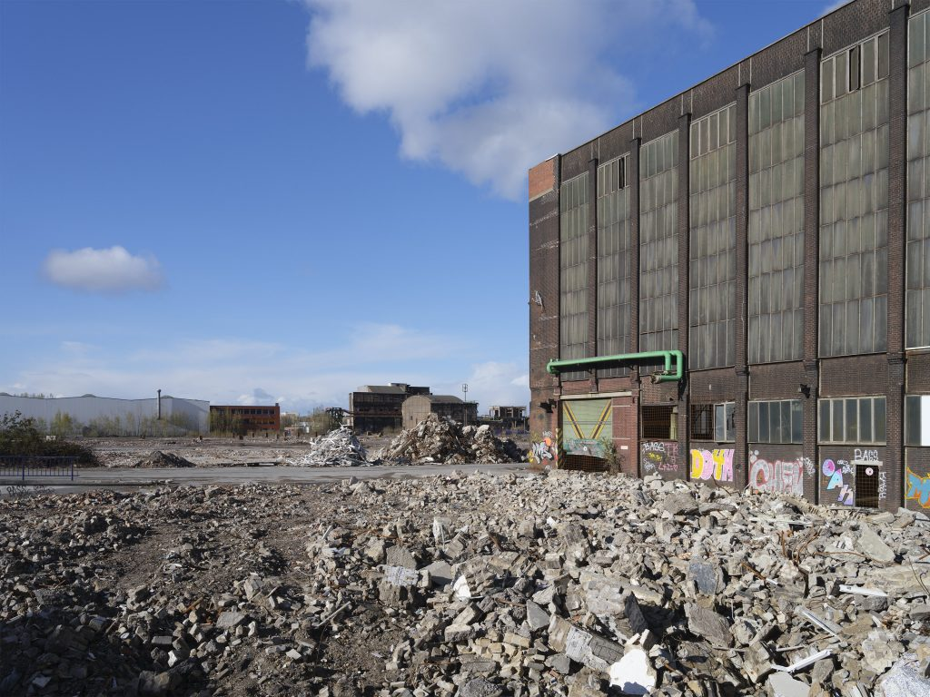 Hoesch Spundwandwerk im Abriss, Dortmund