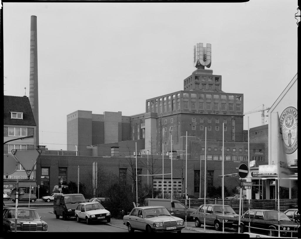 Dortmunder Union-Brauerei vor dem Umzug, Blick von der Augustastraße, Dortmund